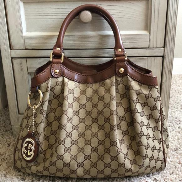 c3ba7efff1d5 Gucci Bags   Authentic Sukey Medium Tote   Poshmark